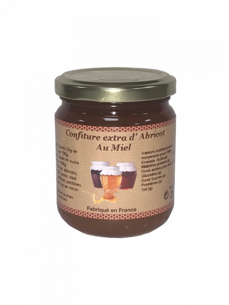 Confiture de fruits au miel