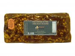 Pain d'épices au miel avec perles de sucre