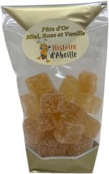 Pâte d'Or Miel, Rose et Vanille