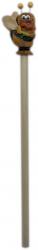 Crayon de bois abeille
