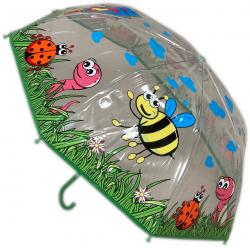 Parapluie transparent animal
