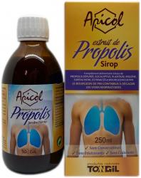 Sirop à l'extrait de propolis